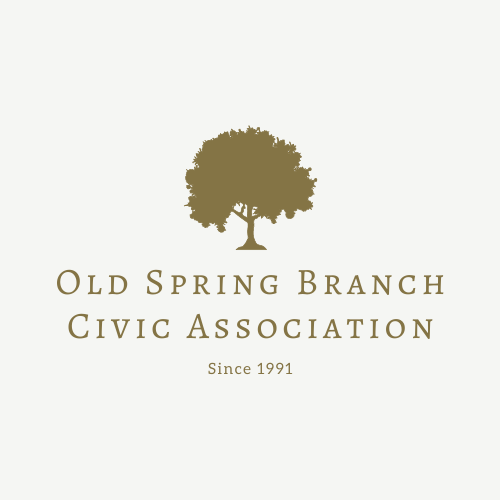 Old Spring Branch Civic Association with tree logo